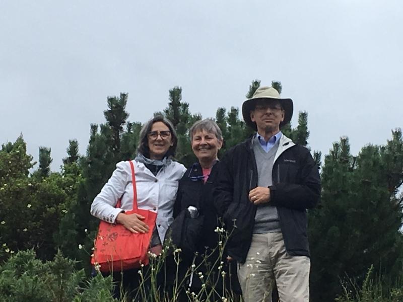 Reyes, Jan and Tom, Edinburgh 2019